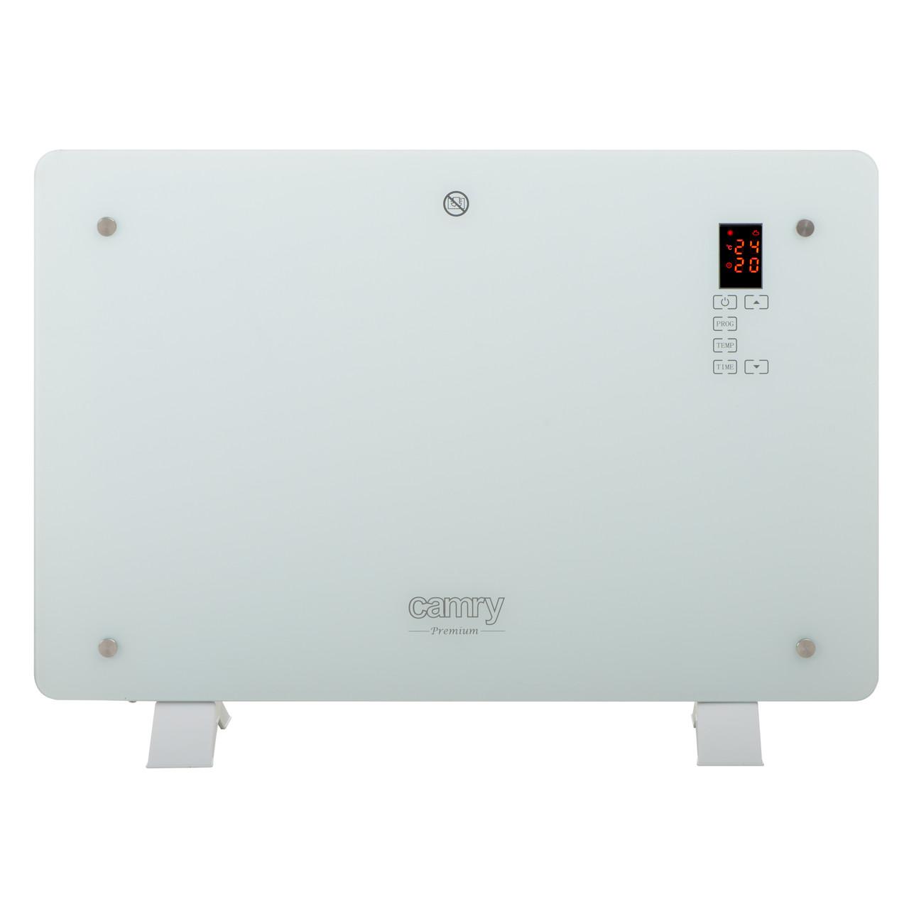 Стеклянный конвектор Camry  CR 7721 LCD с дистанционным управлением