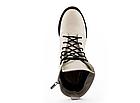 Женские ботинки кожаные весна/осень белые U Spirit, фото 5
