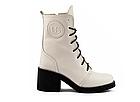 Женские ботинки кожаные весна/осень белые U Spirit, фото 6