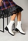 Женские ботинки кожаные весна/осень белые U Spirit, фото 3