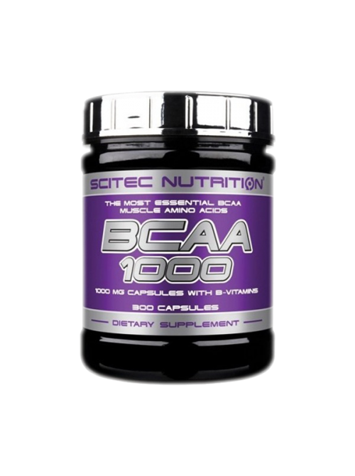 Амінокислоти bcaa Scitec Nutrition BCAA 1000 (300 caps)