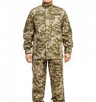 Камуфляжный военный костюм мужской летний уставной Военная форма ZaMisto Саржа Пиксель (ЗМ zm_voen) 46, фото 1