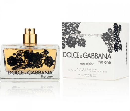 Тестер женский Dolce & Gabbana The One Lace Edition EDP, 75 мл