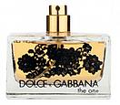 Тестер женский Dolce & Gabbana The One Lace Edition EDP, 75 мл, фото 2