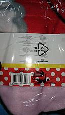 Пледи флісові дитячі оптом Disney Minie, 150*200 см, фото 3