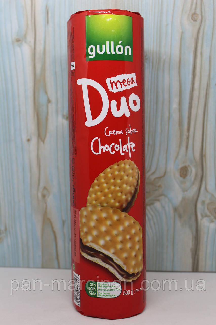 Печиво Gullon Duo Mega Chocolate 500 г Іспанія