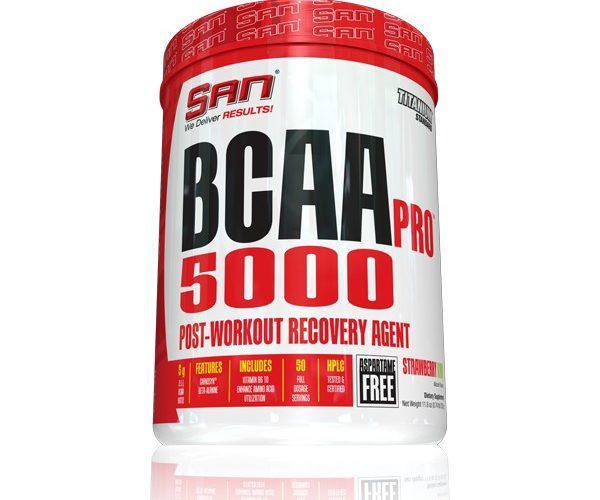 Амінокислоти bcaa SAN BCAA PRO 5000 (345 g)