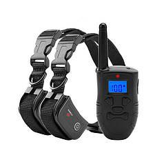 Электроошейник для собак LanXin H-183DR контроля и тренировки комплект 2шт.