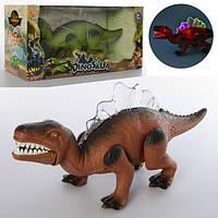 Динозавр 30 см ходить і танцює музика ,рухливі деталі 2 кольори 32,5-17-11,5 см TT340