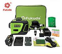 Лазерный уровень/лазерный нивелир БИРЮЗОВЫЙ ЛУЧ 3D Fukuda MW-93T-2-3GX NEW