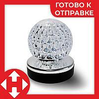 Музыкальный шарик ночник в розетку rotating lamp диско шар детский музыкальный светильник в Киеве, фото 1