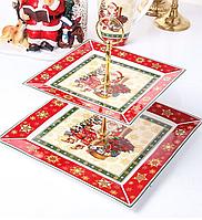 Блюдо сервировочное Новогоднее 986-083