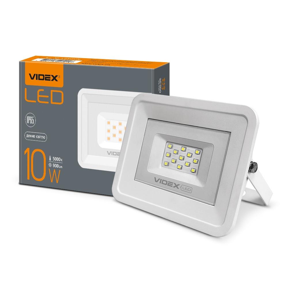 LED прожектор VIDEX 10W 5000K 220V (VL-Fe105W) 24248