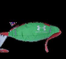 Поясная сумка Under Armour (зеленая) сумка на пояс