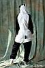Пижама кигуруми Панда веселая S (150-160см), фото 5
