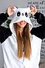 Пижама кигуруми Панда веселая S (150-160см), фото 3