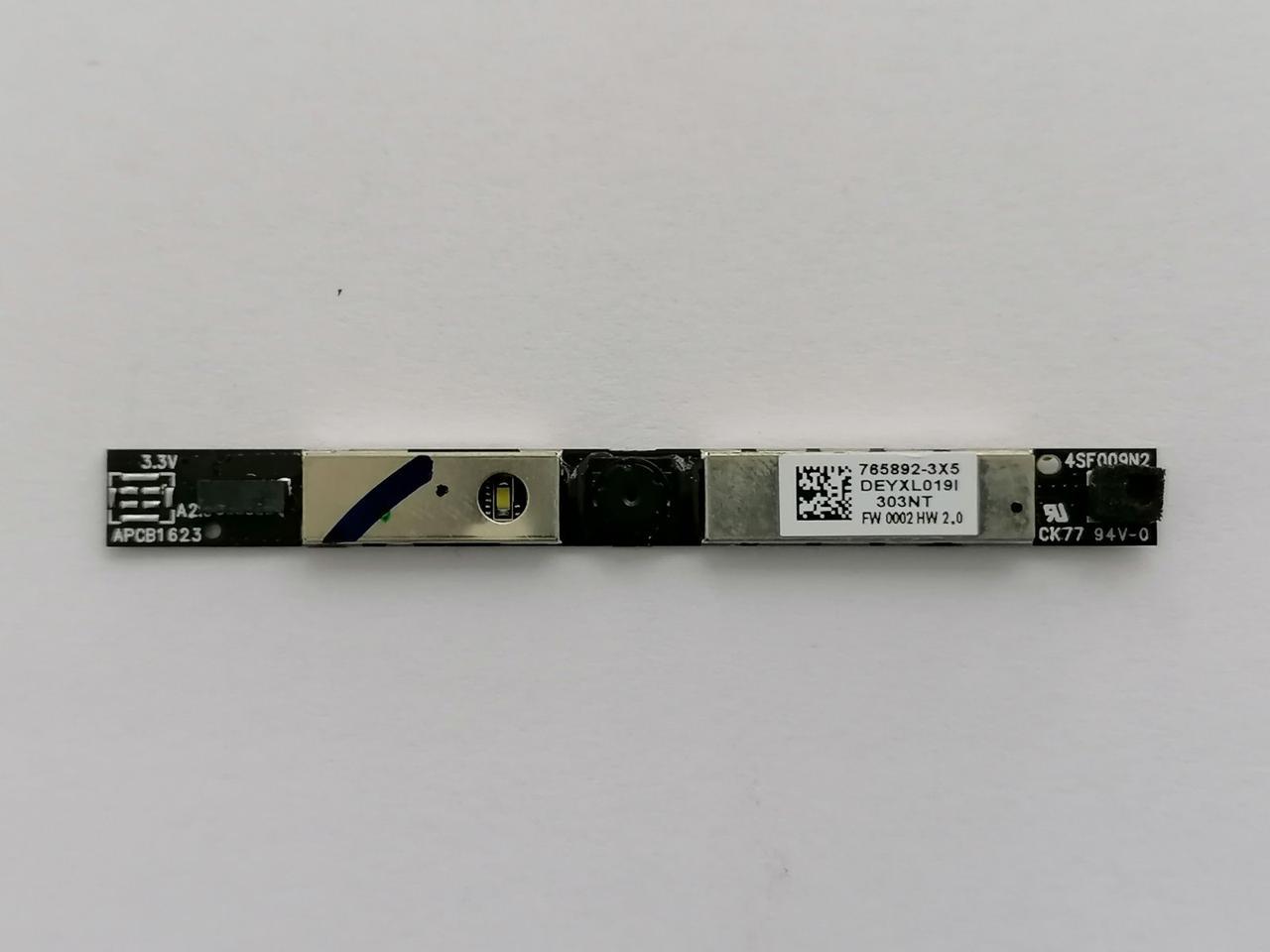 Б/У Web camera для ноутбука HP 250 G5, 255 G5, 250 G4, 255 G4, 15-AC, 15-AY, 15-AF
