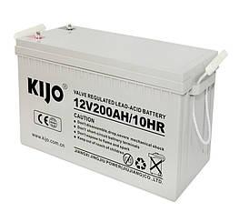 Гелевый Аккумулятор Kijo JDG 200 Ач 12В-GEL