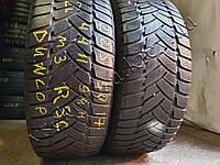 Зимние шины бу 225/50 R17 Dunlop