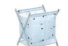 Корзина для белья Laundry Storage Basket Синяя, фото 2