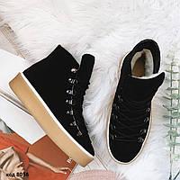 Зимние короткие ботинки 36 размер