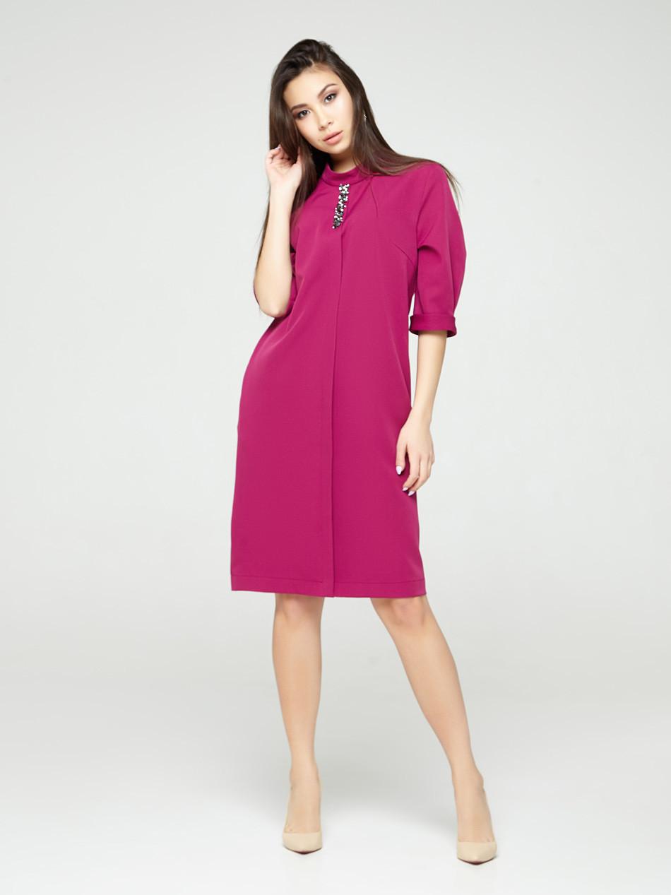 2307 платье Гретта, фуксия (S)