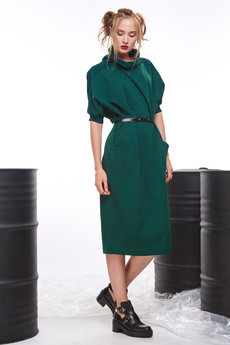 2054 платье Фрезия, зеленый (42-46)