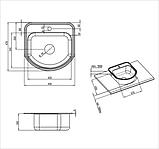 Мийка кухонна сатин, фото 2