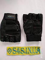 Перчатки спортивные многоцелевые BC-169 (кожа) L