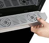 Кулер для воды Lexical настольный компрессорный охлождение/нагрев 550W/90W черный, фото 3