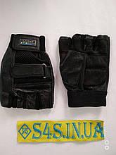 Рукавички спортивні багатоцільові BC-169 (шкіра) XL