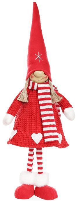 """Мягкая игрушка """"Девочка в красном колпаке и в красной шубке"""" 58см"""