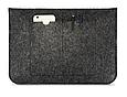 Чехол-конверт из фетра для Macbook 12/  Air11.6'' - темно серый, фото 2