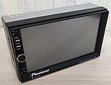 Автомагнитола Pioneer 7021 GPS, 4x60W, 7'', 2DIN, BT, SD, USB,AUX,Fm + пульт, фото 2