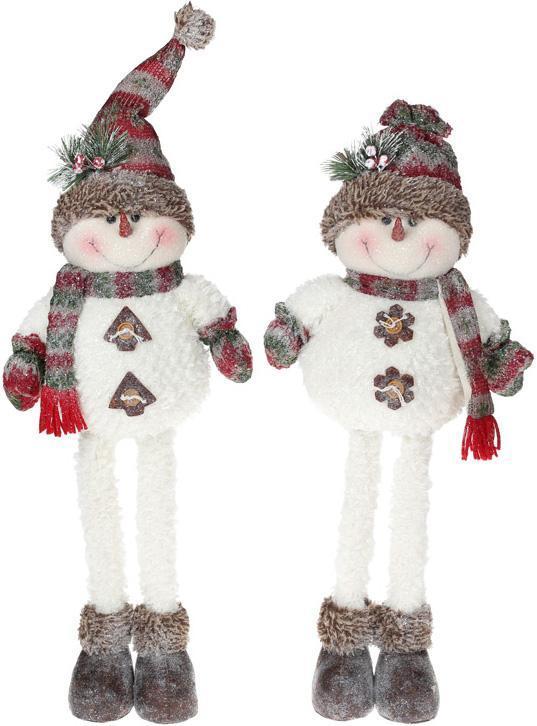 """Мягкая игрушка """"Снеговик в снегу"""" 58см"""