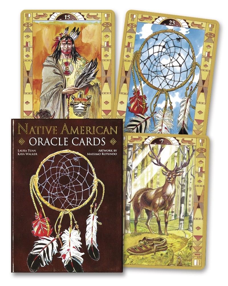 Native American Oracle Cards/ Сакральный Оракул Американских Индейцев