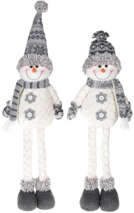 """Мягкая игрушка """"Снеговик черно-белый"""" 58см"""