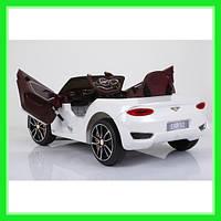 Детский электромобиль JE 1166Б Bentley Белый EVA AUX mp3 USB