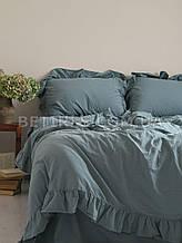 Комплект постельного белья 160x220 LIMASSO AKDENIZ MAVISI EXCLUSIVE голубой