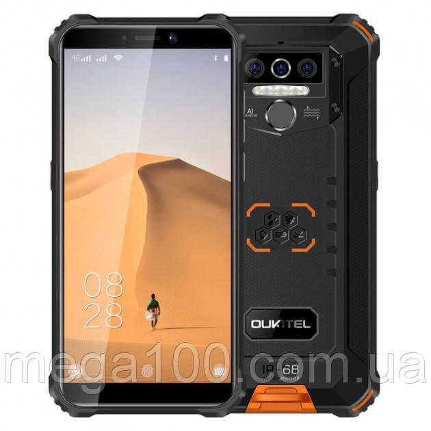 Смартфон OUKITEL WP5 цвет оранжевый (экран 5.5 дюймов;ПАМЯТИ 4/32; емкость акб 8000mAh)
