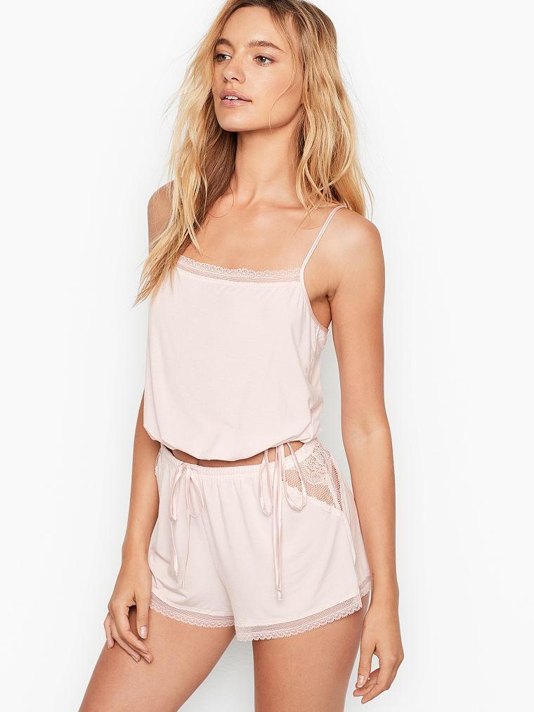 Женская пижама Victoria's Secret  art239802 (Розовый, размер M)