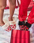 Женские домашние штаны Victoria's Secret art262460 (Красный, размер XS), фото 4