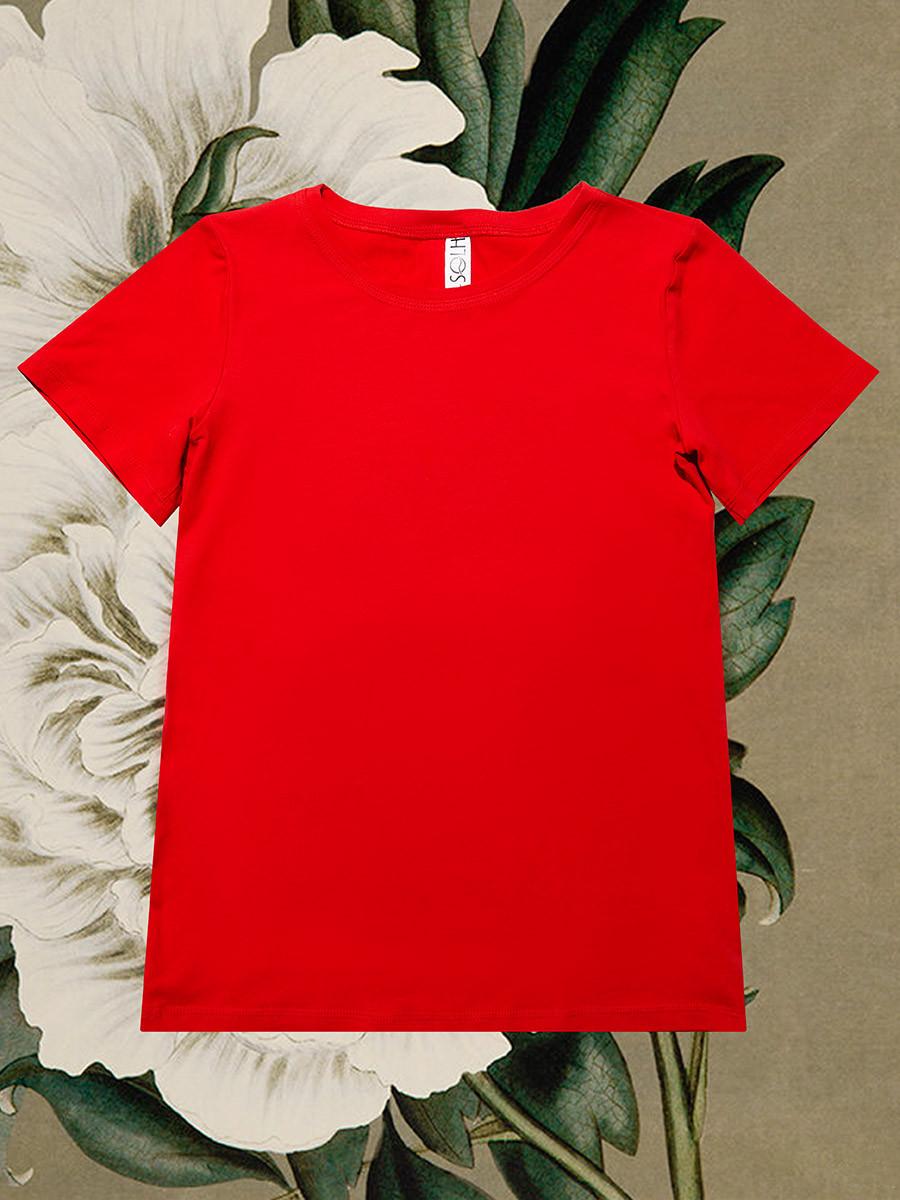 2432 футболка Regular, красный (S)
