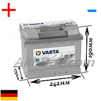 Varta 63Aч 610А Silver Dynamic D39 / 563 401 061 (+/-)