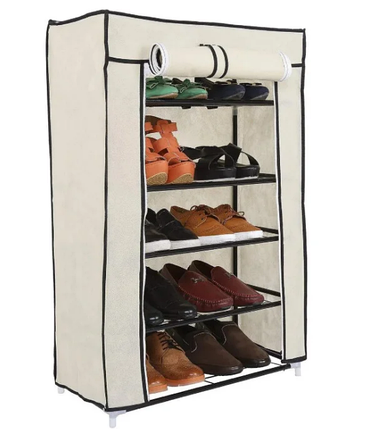 Стеллаж для хранения обуви Combination Shoe Frame 60X30X90    Полка для обуви   Тканевый стеллаж для обуви, фото 2