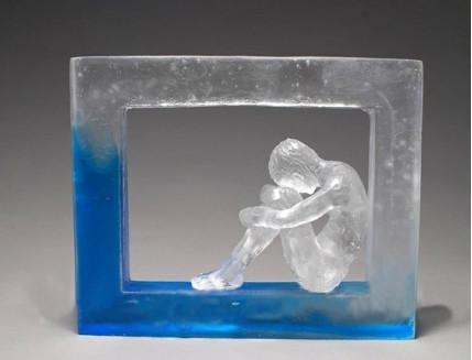 Полупрозрачная эпоксидная смола двухкомпонентная Crystal 1 кг