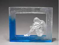Полупрозрачная эпоксидная смола двухкомпонентная Crystal 1 кг, фото 1