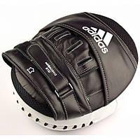 Лапа Adidas Ultimate Classic Air Mitts Vacuum Pad (черно/белые, ADIBAC0112), фото 1