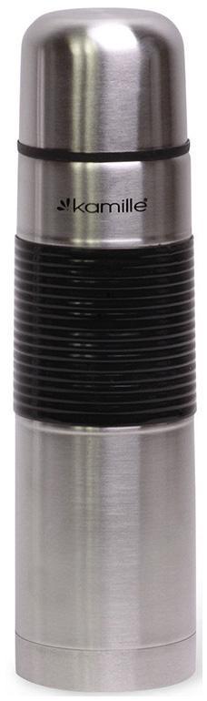 Термос Kamille Amiens 750мл с силиконовой накладкой