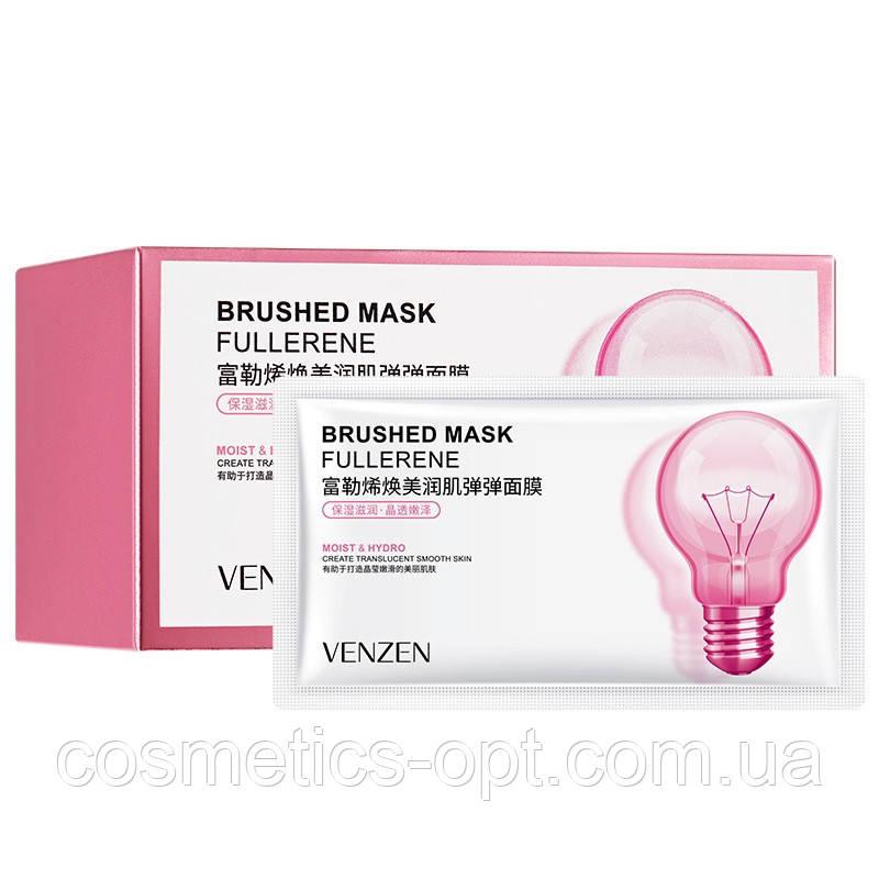 Матирующая ночная маска с фуллеренами VENZEN Brushed Mask Fullerene, 2 мл